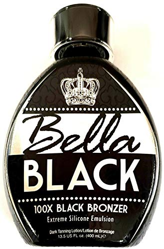 Bella Black 100x Black Bronzer Tanning Lotion 13.5 oz