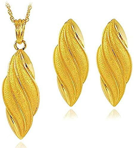 ZPPYMXGZ Co.,ltd Necklace Fashion Vintage Jewelry Sets for Women Necklace Earrings Pendants Water Drop Jewelry Sets for Wedding Birthday Jewelry Gift Necklace Length 45cm