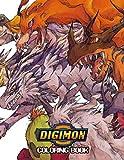 Digimon Coloring Book: Beatiful Anime...
