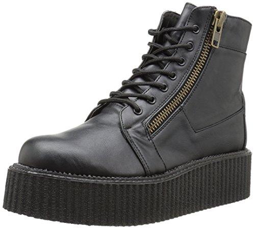 Demonia Herren V-CREEPER-571 Klassische Stiefel, Schwarz (Blk Vegan Leather), 39 EU