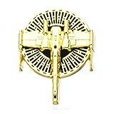 Star Wars Jewelry Men's Episode 8 X-Wing Enamel Lapel Pin Jewelry, Gold, One Size