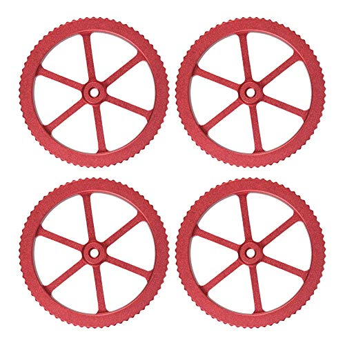 Upgraded Aluminum Hand Twist Leveling Nut with 4 Hot Bed Die Springs for Creality Ender 3/3 Pro, Ender 5/5 Plus/Pro, Ender 3D Printer 4pcs