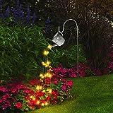 Lámpara de jardín LED luz de cuento de hadas regadera impermeable luz de jardín decoración de césped al aire libre