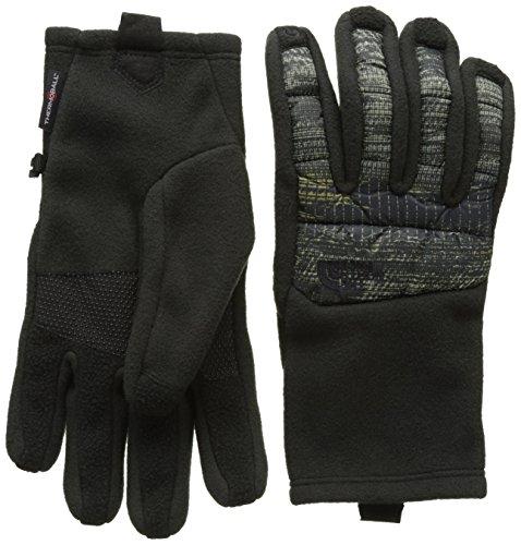 THE NORTH FACE Herren M Thermoball ETIP Glove Handschuhe, Schwarz/Braun-Tnfb/Rsngnglmpt, XL