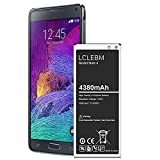 Galaxy Note 4 Battery, [2021 Upgraded] 4380mAh Li-ion Replacement Battery for Samsung Galaxy Note 4 N910, N910U 4G LTE, N910V(Verizon), N910T(T-Mobile), N910A(AT&T), N910P(Sprint)