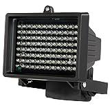 Festnight LEDs IR-Illuminator, 96 LEDs Nachtsicht Array-Infrarotlampen Wasserdicht Draussen Für CCTV-Überwachungskamera