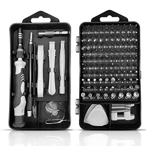 Royace Small Screwdriver Set,Micro Tools,119 in 1 Screwdriver Kit Laptop Screwdriver Kit Tiny Screwdriver Set Laptop Tool Kit Electronic Repair Kit Torx Screwdriver Set,Iphone Tools Repair Kit for PC