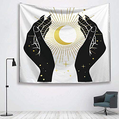 N / A Sun Witchcraft Tapestry Wall Fabric Tapestry Wall Blan