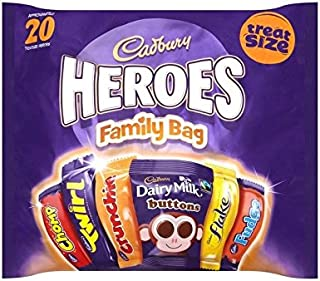 cadbury family pack