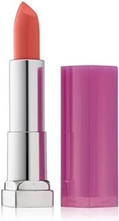Maybelline New York Color Sensational Rebel Bloom Lipstick, Peach Poppy 0.15 oz (Pack of 3)