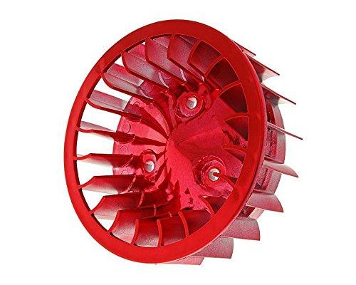 Ventilador Cilindro de Color Rojo para Mina Relli Tumbado, Keeway, CPI, 1E40Qmb