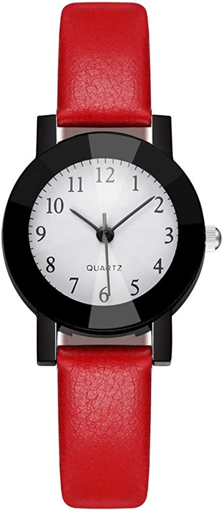Max 85% OFF Muranba WatchesNew Fashion Women Leather Style OFFicial site College Black