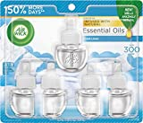 Air Wick Plug in Scented Oil 5 Refills, Fresh Linen, (5x0.67oz), Same Familiar Smell of Fresh Laundry, New look,...