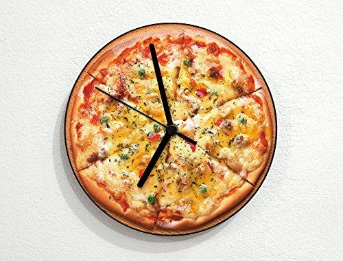 Pizza Time - Peperoni - Stuffed Crust - Super Supreme - Custom Name Wall Clock