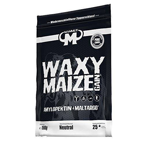 Mammut Waxy Maize Gain Amylopektin + Maltargo, 1500 g