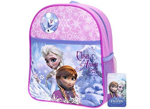 Disney Kids Frozen & Anna Large Backpack Children Fun Travel & Schooling
