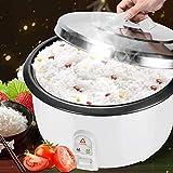 NLRHH Multipropósito Cocina de arroz, con un Solo botón de Cocina, Cantina Commercial Hotel Antiadherente Capacidad de Super Gran 8L arroz cocinando el pote, 8L, 8L Peng