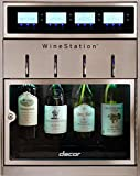 """Dacor DYWS4 Discovery 20"""" WineStation 4-Bottle Wine Dispenser with Thermo-Electric Cooling System"""