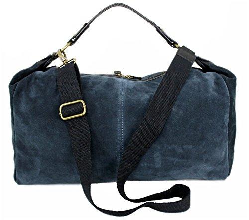 Leatherworld, Bagage cabine Femme Bleu bleu xl