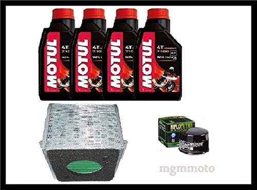 Tecneco Kit Honda CB 500 x-d, et, F 13 – 17 Huile motul 7100 10 W40 Filtre huile Air