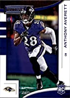 2018 Rookies and Stars Football #185 Anthony Averett RC Rookie Card Baltimore Ravens Rookie Official NFL Trading Card Produced by Panini