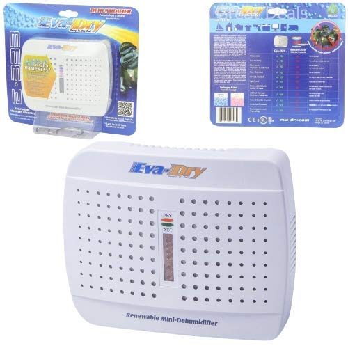 Best-All-Around Eva-Dry E-333 Improved 100 Renewable Mini Dehumidifier - New M6UE333