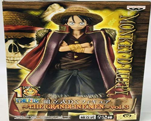 One Piece DX Figure THE GRANDLINE MEN vol.3 Luffy single item (japan import)