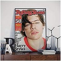 ハリーブリティッシュスタイルポスター家の装飾キャンバスポスター部屋の装飾壁アート写真ポスターとプリント装飾-50x70cmx1pcs-フレームなし