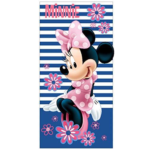 Minnie Mouse Toalla microfibra Baño Playa Piscina 70x140cm Para Niña 100%poliéster