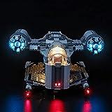 BRIKSMAX Kit de iluminación LED paraStar WarsThe Mandalorian™ Bounty Hunter Transport - Compatible con Lego 75292 Building Blocks Model- No incluir el Conjunto de Lego