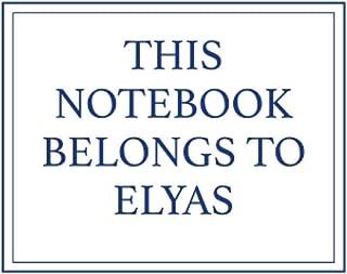 This Notebook Belongs to Elyas