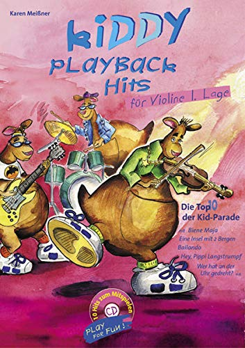 Kiddy Playback Hits für Violine: Die Top 10 der