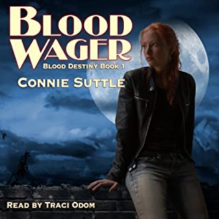 Blood Wager audiobook cover art