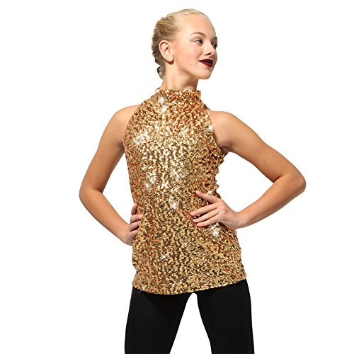 Alexandra Collection Womens Sequin Sparkle Tank Tunic Dress Just