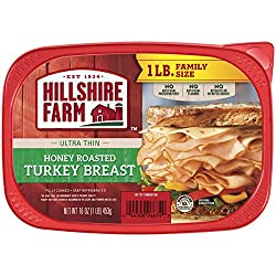 Hillshire Farm Ultra Thin Sliced Lunchmeat, Honey Roasted Turkey Breast, 16 oz.