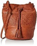 Joe Browns Damen Gorgeous Washed leather Bag Schuhbeutel, Braun (Brown), Einheitsgröße
