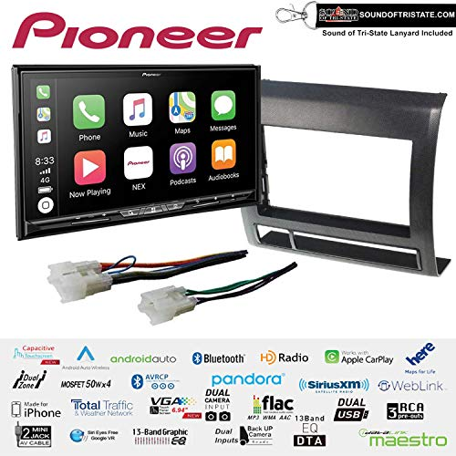 Review Of Pioneer AVIC-W8500NEX 6.94 DVD Navigation Receiver with Wireless Apple CarPlay and Androi...