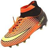 Syndra Chaussures de Football Homme Chaussures Athlétisme Entrainement pour Adolescents Garçon High Top AG/FG Spike Futsal Chaussures de Sport Crampons Professionnel Unisexes