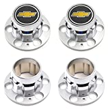 BB Auto Set of 4 New Wheel Center Caps Replacement for Chevrolet Chevy GMC Truck 6 Lug 15' 15x8 4x4 4WD Rally Wheel