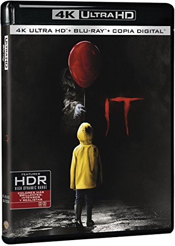 It 4k Uhd [Blu-ray]