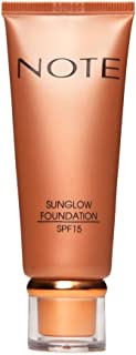 Note Sun Glow Foundation 1, Yellow, 35ml