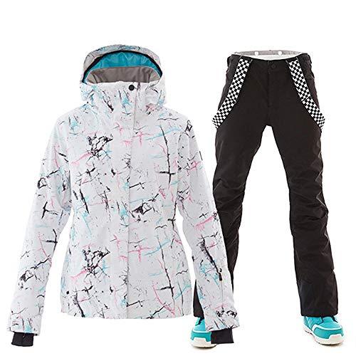 XFCMCP Winter Ski suit Vrouwen Ski Jas En Broek Sneeuw Warm Waterdicht Winddicht Skiën Snowboarden Vrouwelijke Ski Suits
