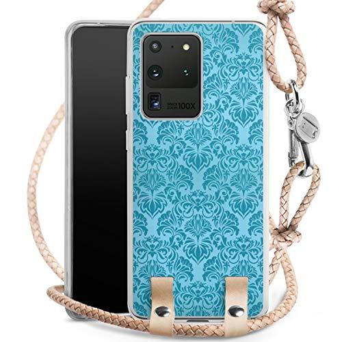 DeinDesign Carry Case kompatibel mit Samsung Galaxy S20 Ultra Hülle mit Kordel aus Leder Handykette...