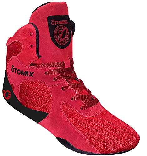 Otomix Men's Stingray Escape Bodybuilding Lifting MMA & Wrestling Shoes Red 9