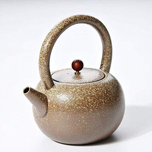 JHSHENGSHI Colador de Tetera Vigas de Tetera de cerámica Tetera de té Hervidor doméstico Simple Resistente al Calor