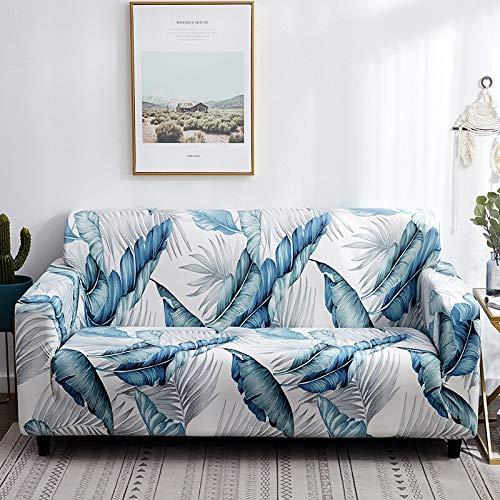 ASCV Protector de Muebles-Pieles de sofá Funda elástica para Sala de Estar Funda de sofá de Esquina Funda elástica para sofá A2 3 plazas