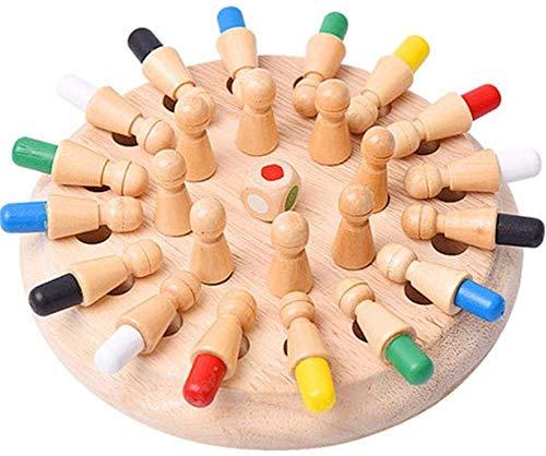 Jeux de mémoire en Bois, Jeux de société pour Enfants et Adultes, Jeu de réflexion et Logique pour La Formation Main Cerveau Coordination, Jouets éducatifs pour Enfants de l'éducation préscolaire