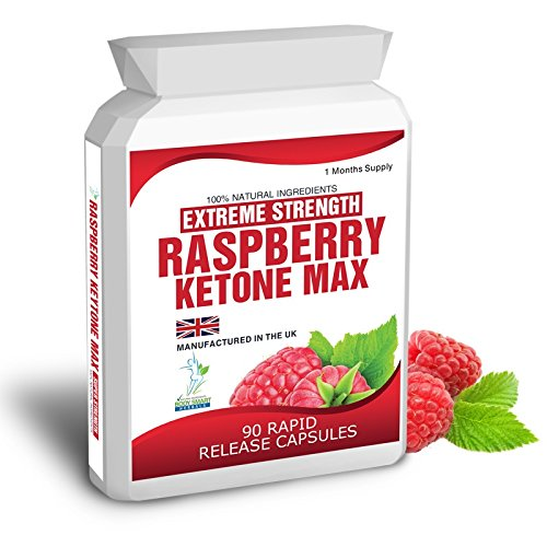 Raspberry Ketones Max 90 Extreme Weight Loss Slimming Dieting Fat Burner Aid Pills One Month Supply 1500mg Daily Dose Free Meal Plan & Dieting Tips Extreme Strength FAST FREE DELIVERY 1 TO 2 DAYS
