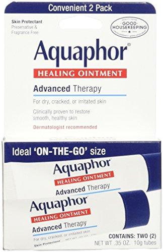 Aquaphor Healing Skin Ointment, Advanced Therapy, 2 Pack, 0.35 oz ea