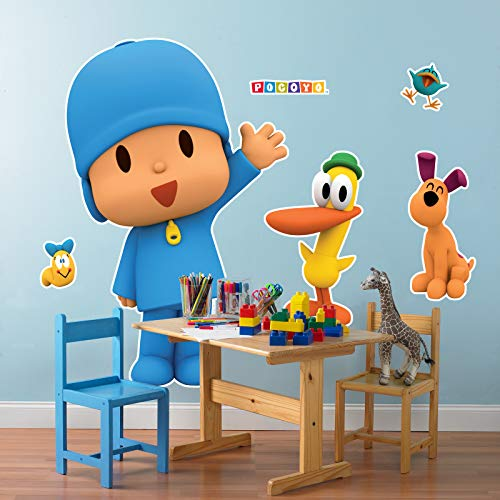 BirthdayExpress Pocoyo Party Supplies Room Decoration Giant Wall Decals